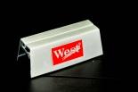 West Zigaretten, Aufsteller, Speisekartenaufsteller, Metall