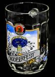Paulaner Oktoberfest München 2012, Sammel Krug Glas 0,5l, Bierseidel