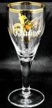 Köstritzer Schwarzbier Brauerei / Editionsbierglas Saxophon / 0,2l