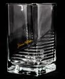 Johnnie Walker Whiskey, Tumbler Relief, eckig, hohe Ausführung.