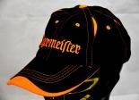 Jägermeister Likör, Mütze, Baseballcap, Schirmmütze, Cap, schwarz/orange