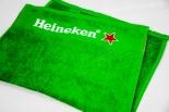 Heineken Bier Brauerei, Barhandtuch, Bartowel, grün