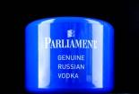 Parliament Vodka, 10l Eiswürfelkühler, Eiswürfelbehälter, Eisbox, blau