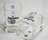 Parliament Vodka Stamper, Shotglas, eckige Ausführung, 2cl/4cl