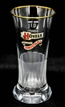 Hövels Bier, Goldrand Glas Victoria Becher, 0,1l, Empfangsglas