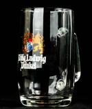 König Ludwig, Bier, Bierseidel, Bierkrug, 0,5 l, Sahm