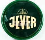 Jever Bier, Serviertablett, Rundtablett, grüne Ausführung, Rutschfest