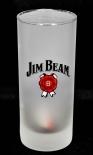 Jim Beam Whiskey, Longdrinkglas Turbodog satiniert, Sammelglas