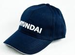 Hyundai Industries, Cap, Baseballcap, Schirmmütze blau Hyundai