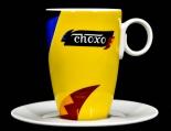 Choxo Kakao Hutschenreuther Hotel Kakaobecher Tasse Kaffeetasse
