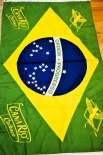 Canario Cachaca, Banner, Flagge, Fahne, Horizontal, Brazil Grün