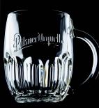 Pilsener Urquell Bierkrug, Bierglas, Seidel, Krug, 0,3l  Tankard  Bodenprägung