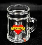 De Kuyper - Bessen Genever Henkel Glas, Shotglas.