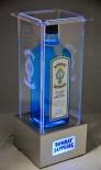 Bombay Sapphire, Gin LED Flaschenleuchte, Leuchtreklame, sehr edel...
