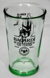 Bacardi Rum Jubiläumsglas 150 Jahre, Limited Edition 4/4 Cuba is great