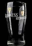 Guinness Beer Glas / Gläser, Bierglas mit Doppel Logo 0,3l