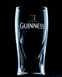 Guinness Beer, Bierglas Arthur Day, 0,5l, Reliefschliff