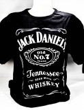 Jack Daniels Whiskey, T-Shirt Sour Mash Gr.L, full Logo