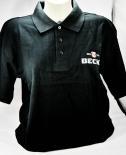 Becks Bier, Herren Polo Shirt, schwarz, Gr.M, sehr edel gestickt.