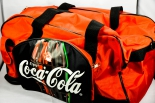 Original Coca Cola Sporttasche, Tasche, Nylon/PVC, 50x30x25 cm