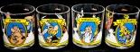 Ferrero Nutella, Sammelgläser Asterix & Obelix, 4 Gläser im Set