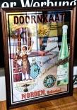 Berentzen Doornkaat Werbespiegel, Barspiegel, Spiegel, Echtholzrahmen
