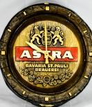 Astra Bier Brauerei, Fassboden Uhr, Wanduhr.