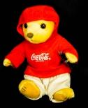 Coca Cola Bärenfamilie Sport, 5 Teddybären im Set