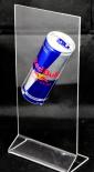 Red Bull Energy. Verkaufständer, Dosenaufsteller, Plexiglas.