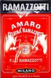 Ramazzotti Likör Blechschild / Werbeschild, 3D Blechschild.
