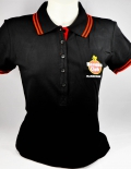 Havana Club Rum, Polo Shirt, women, schwarz Gr. S/M, gesticktes Logo, Stern