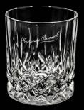 Bacardi Rum Facundo, Rum Glas, Tumbler, Bleikristallglas, sehr edel.