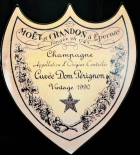 Moet Chandon Champagner, Blechschild Vintage Ausstellungsstück