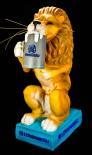 Löwenbräu Bier, Orig. Löwenbräu-Löwe Figur, 70er Jahre, 50cm