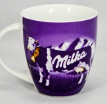 Milka Schokolade, Tassimo Kakaobecher, Tasse lila, Kuh