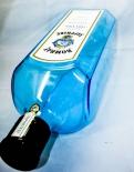 Bombay Sapphire, Gin Echtglas, Riesen Dekoflasche 55 x 18cm!!