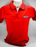 Ramazzotti Likör Polo Shirt, Girly, ohne Knöpfe, rot, Gr.S mit Logo