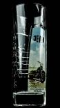 Jever Bier, Sammelglas HD Black Line 2012 Glas Sammeledition, Harley Davidson
