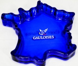 Gauloises, Glas-Aschenbecher Frankreich Form, sehr edel..