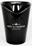 Moet Chandon, Champagner Flaschenkühler, schwarz, Thermo Kunststoff
