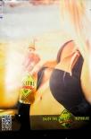 Salitos Bier, Werbeposter, Plakat, Poster, Bierflasche