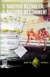 Salitos Bier, Werbeposter, Plakat, Poster, 5 Salitos bezahlen