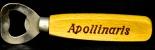 Apollinaris Flaschenöffner, Retrostyle, Holzgriff