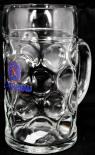 Löwenbräu Bier Brauerei, Maßkrug, Bierglas, Bier Seidel, 1 Liter
