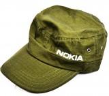 NOKIA, Schirmmütze, Cap, Army-Style, Olivgrün