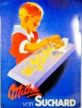 Milka Schokolade, Werbe Blechschild, 40 x 30cm in OVP-NEU