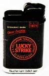 Lucky Strike, Feuerzeug, Djeep-Lighter, Black Edition!!