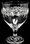 Hendricks Gin Glas / Gläser, Cocktailglas, Ginglas, Pokalglas im Relief