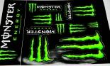 Monster Energy, Original 10 x Aufkleber, Sticker Motocross, Bmx