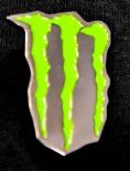 Monster Energy, Original Pin, Ansteckpin Kralle